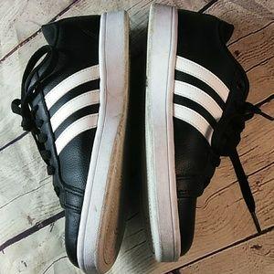 adidas Shoes - Adidas Cloudfoam Black Women's Sneakers 9.5 M